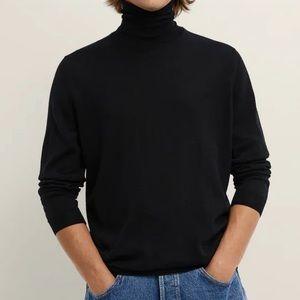 Zara // Basic Turtleneck Sweater